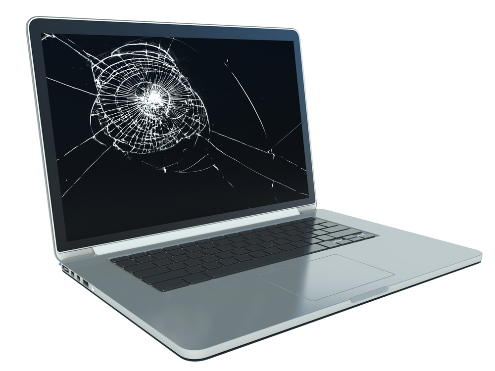 cracked touch & laptop screen replacement